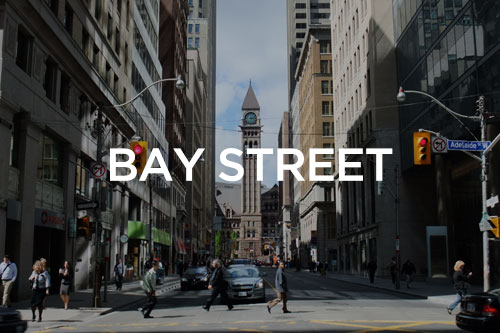Bay Street condos for sale