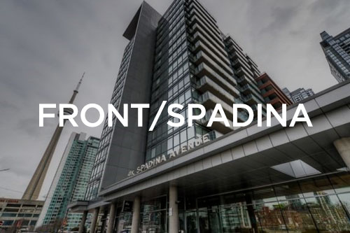 Front and spadina condos for sale