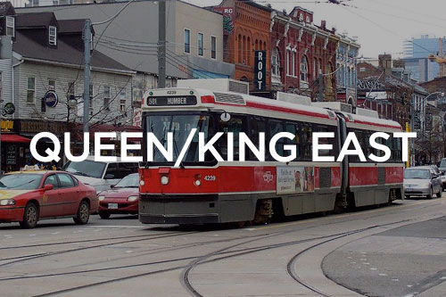 Queen/King East condos for sale